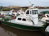 """BAYOU LADY"" 36 FT X 14 FT X 5 FT CREW BOAT W/FRONT PUSH KNEES"