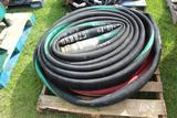 Pallet of Oil Delivery Hose