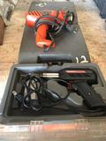 Lot of (2) Weller Soldering Guns & Black & Decker Heat Gun