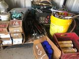 Lot of Misc Grease Guns - Grease - Chain & Cable Lube