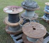 Lot of (5) Spools of Misc Wire