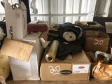 Pallet of Misc Gaskets - Rubbers - Shrink Wrap