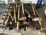 Pallet of Maul Hammers