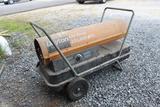 Dayton Roll Around Heater - 200,000 BTU
