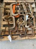 Lot of Misc Wilton Clamps