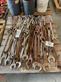 Large Lot of Combination Wrenches