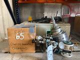 Lot of Misc Control Box - Fuel & Oil Separartors - Valve