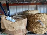 Misc Pallet of Unused Rope