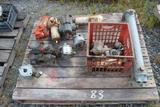 Lot of Misc Hyd. Pumps & Fittings