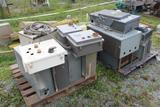 Lot of Control Boxes & Electrical Boxes (Used)