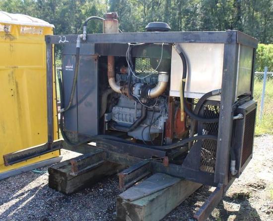 DEUTZ ENGINE w/Hyd Pump, Oil Reservoir and Cooler