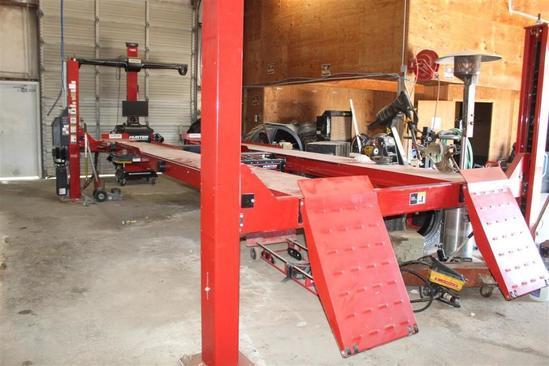 HUNTER HAWKEYE Elite Alignment Machine Model L451-18K