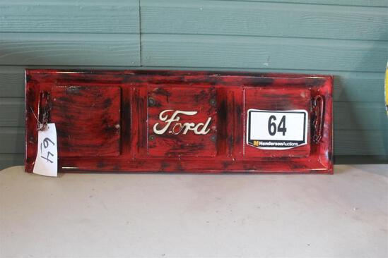 RED FORD TAILGATE
