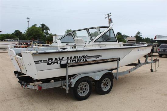 1995 BAY HAWK 226 GVM 1005-1059