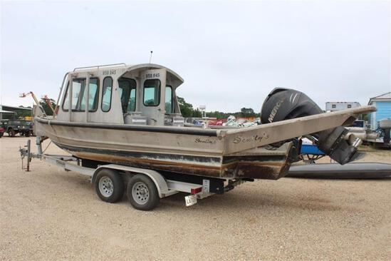 2006 SCULLY 20 FT WORK BOAT