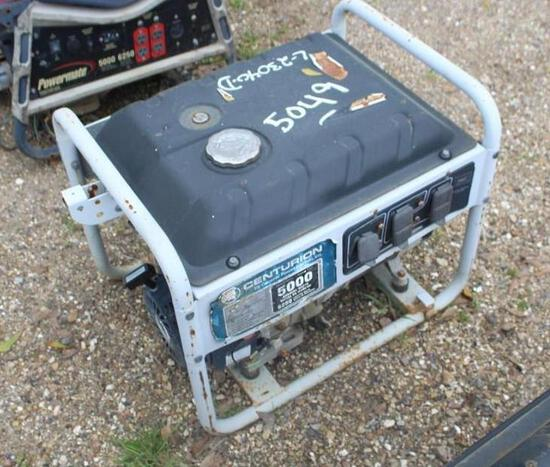 GAS GENERATOR - SKID MTD FOR PARTS OR REPAIR ONLY