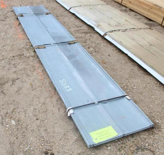 2X12 V CRIMP METAL ROOFING Vintage Barn Style Tin - Approximately 600 ft