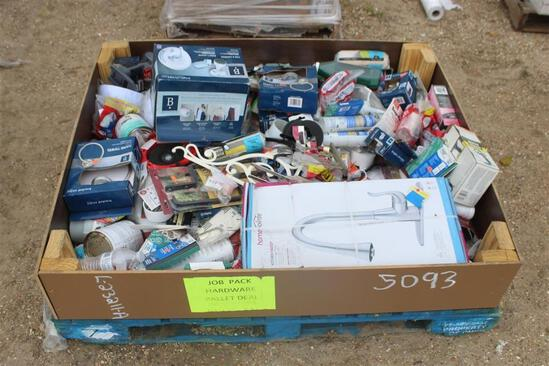 BOX OF ASSORTED HARDWARE Building/Hardware Accessories