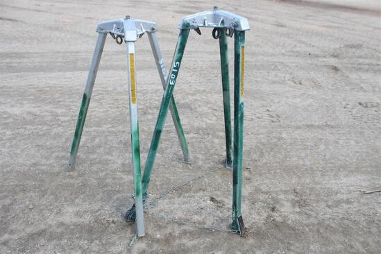 (2) MAN HOLE STANDS