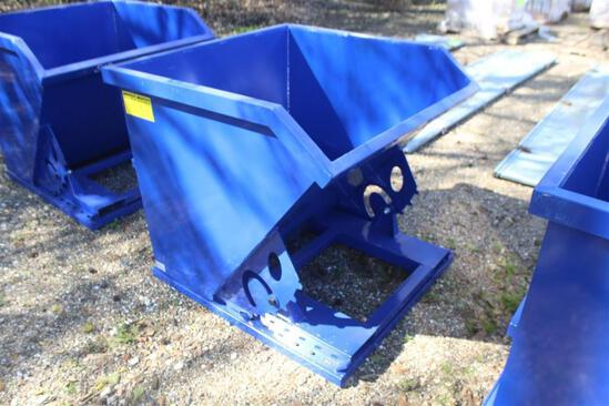 TRASH DUMPING HOPPER Unused