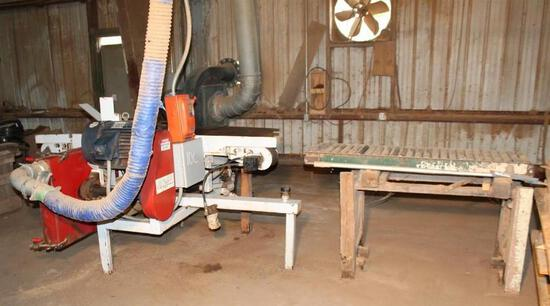 Go Fast Resaw with Conveyor