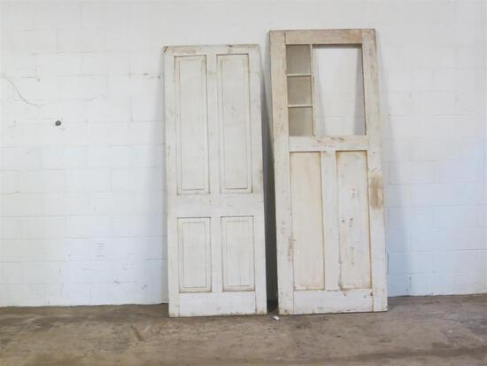 5 Reclaimed Antique Cypress Doors