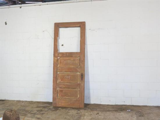 1 Reclaimed Antique Cypress Farmhouse style door
