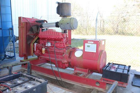 230 KW Skid Mounted Generator