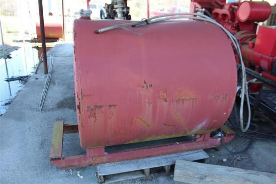 300 Gallon Skid Mounted Fuel Tank