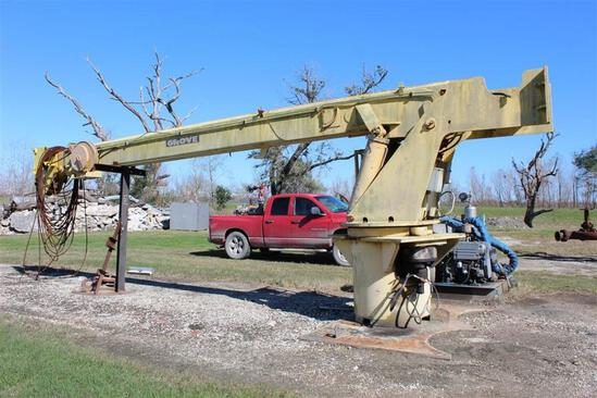 Grove Deck Mounted Crane