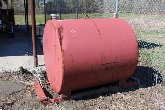 300 Gallon Skid Mtd Fuel Tank