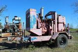 Trailer Mounted 6 inch Pump, JD Diesel Engine