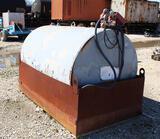 550 Gallon Skid Mtd Fuel Tank