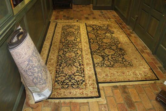 Lot of (4) Rugs - (1) 66x92 Inch Rugs and (3) 30x96 Inch Runners