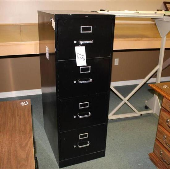 Filing Cabinet with Map File
