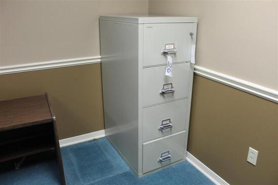 (1) Fire Proof Filing Cabinet