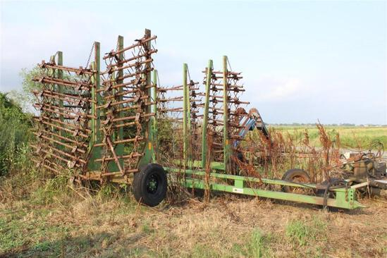 Martens 30' Folding Harrow
