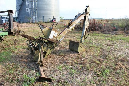 Long LBN-10 3PTH Backhoe