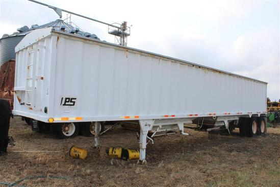 2009 Manac CPS TSH-40 Grain Trailer - Hopper Bottom - Tandem Axle - Roll Over Tarp - VIN