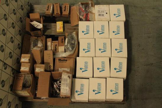 Lot of pressure transmitters, ball valves, misc fitting, needle valves, etc