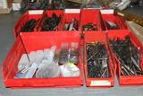 Lot of drill bits, drill taps, Drill Doctor sharpening kit,