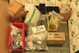 Knife switches, test switches, slide link termial block, rotary switch, name plates