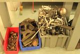 Lot of scrap stainless steel, copper, brass and aluminum