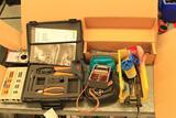 Allen-Bradley crimp set, ODTi/FIRETEK Sensitivity Checker Model 450-1030, PALADIN TOOLS PC