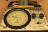 Digital 10,000 pressure gauge, WALLACE & TIERNAN Series 65-120 Portable Pneumatic Calibrator