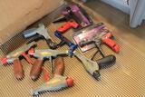 pallet of zip ties, zip tie, wire tie tools