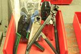 Lot of terminal end crimpers