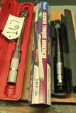 Lot of 3 torque wrenches