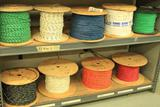 Lot of 7 spools of #10 AWG SIS Cable; 2 spools #12 AWG SIS Cable