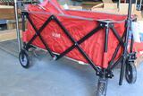 ULINE foldable caddy cart w/ storage bag